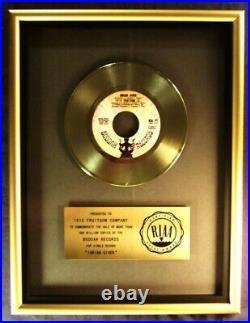 1910 Fruitgum Company Indian Giver 45 Gold RIAA Record Award Buddah Records