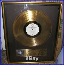 1982 Riaa Doobie Brothers Best Of The Doobies Volume 2 Gold Record Sales Award