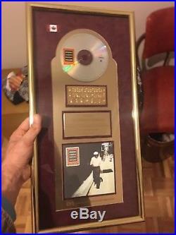 1998 Buena Vista Social Club Gold Record Award Canada