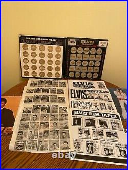 (2)-Elvis Presley Box Sets, Worldwide 50 Gold Award Hits, vol. 1 & 2 & Extra's