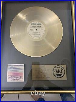 8 RIAA gold record award