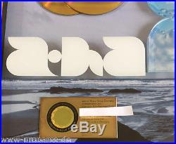 A-ha Gold Award (goldene Schallplatte) 25 greatest hits! Verliehen 2010