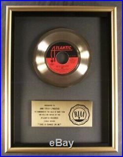 ABBA Take A Chance On Me 45 Gold RIAA Record Award Atlantic Records To Anni Frid