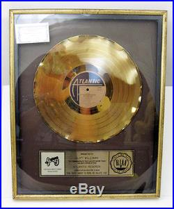AC/DC Gold Atlantic Record FOR THOSE ABOUT TO ROCK WE SALUTE YOU Framed Award
