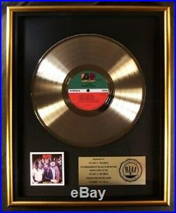 AC/DC Highway To Hell LP Gold RIAA Record Award Atlantic Records To Atlantic