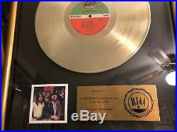 AC/DC Highway to Hell Gold RIAA Record Award Angus Malcolm Young Bon Scott
