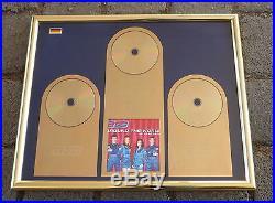 ATC Around The World 3 fach Gold Award (goldene Schallplatte)