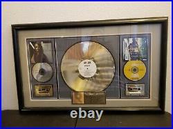 Aaliyah RIAA gold record award
