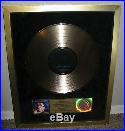 Adam Lambert For Your Entertainment Riaa Certified Gold Record Sales Award