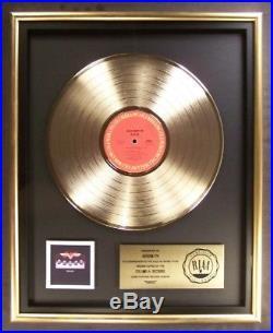 Aerosmith Rocks LP Gold RIAA Record Award Columbia Records