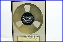 Ampex Golden Reel Award to Udo Arndt for Nena (famous for 99 Luftballons)