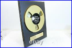 Ampex Golden Reel Award to Udo Arndt for Rainbirds Call me Easy