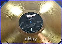 Anthrax I'm The Man RIAA Gold Record Award Scott Ian Charlie Benante Frank Bello