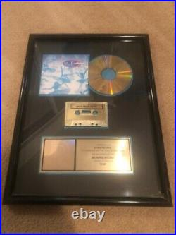 Arons Records Hollywood Record Store Gold Sales Award Belly Star Collectible