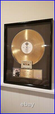 BANANARAMA OFFICIAL US Gold Record Award For True Confessions