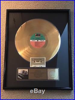 BEACHES Vocal Bette Midler Original Soundtrack Recording Gold Record Sales Award