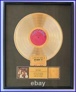 BIG DADDY KANE RIAA GOLD RECORD AWARD Long Live The Kane 1988 Cold Chillin