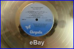 BLONDIE Eat to the Beat LP official Gold Record AWARD CRIA Canadian RARE