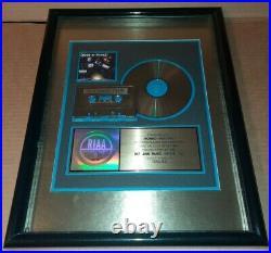 BONE THUGS N HARMONY Lot Rare RIAA Gold Record Award Signed Poster Rap Hip Hop