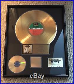 Bad Company Dangerous Age Gold Record Sales Award RIAA Certified Atlantic