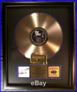 Beastie Boys Licensed To Ill LP, CS Gold Non RIAA Record Award Def Jam Records