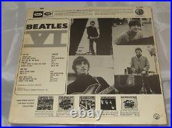 Beatles Beatles VI Sealed Vinyl Record LP USA 1971 RIAA 12 With No Gold Award seal