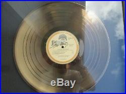 Beatles George Harrison Gold Record award