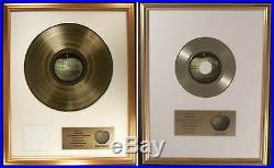 Beatles The Beatles (White Album) LP & Hey Jude 45 Non RIAA Gold Record Awards