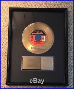 Bette Midler Wind Beneath My Wings RIAA GOLD RECORD SALES AWARD Atlantic