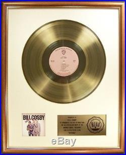 Bill Cosby Revenge LP Gold RIAA Record Award Warner Brothers Records