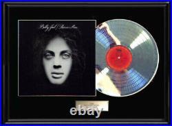 Billy Joel Piano Man White Gold Silver Platinum Tone Record Lp Non Riaa Award