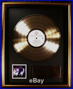 Black Sabbath Heaven And Hell LP Gold RIAA Record Award Warner Brothers