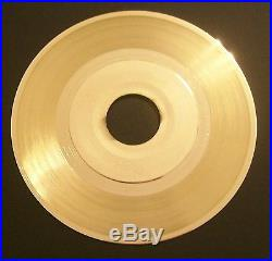 Blank Gold Plated LP Record RIAA Quality to Custom Customize Award Disk Vinyl