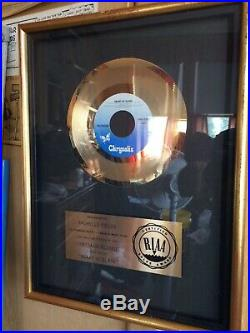 Blondie Gold Record Award Heart Of Glass 7 Single Original Mint Cond 1979