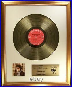 Bob Dylan Blonde On Blonde LP Gold Non RIAA Record Award Columbia Records