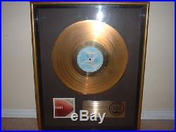 Bob James Riaa Gold Record Award Touchdown Theme From Taxi