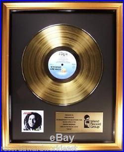 Bob Marley & The Wailers Kaya LP Gold Non RIAA Record Award Island Records