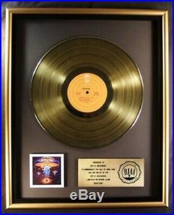Boston Boston Debut Self Titled LP Gold RIAA Record Award Epic Records