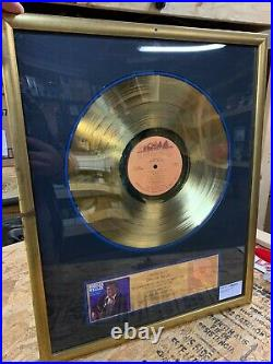 Boxcar Willie RIAA Gold Record 500,000 sales award for Best loved favorites