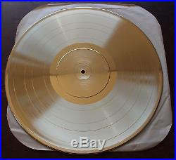 Bruce Springsteen Born In The USA RIAA Gold Certified Sales Award Record Million