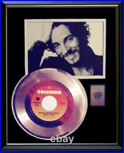 Bruce Springsteen Born To Run 45 RPM Gold Metalized Record Rare Non Riaa Award