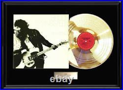 Bruce Springsteen Born To Run Gold Metalized Vinyl Record Rare Non Riaa Award