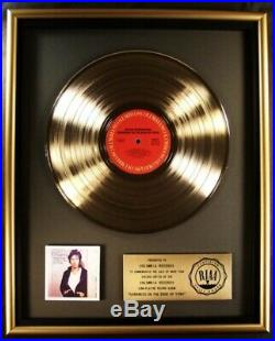 Bruce Springsteen Darkness On The Edge Of Town LP Gold RIAA Record Award