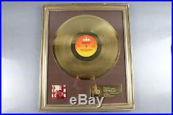 Bruce Springsteen Gold Record Award 250,000 Sales Of Born In The USA /germany