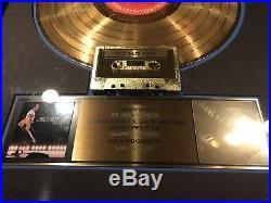 Bruce Springsteen Live 1975-85 RIAA Gold Record Award