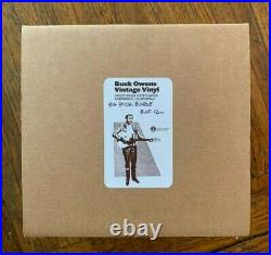Buck Owens Vintage 7 Single Bundle withGold Record Award (46 Records)