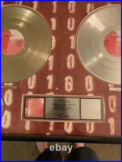 Bush 6Teen Stone LP CD Gold and Platinum RIAA Record Award Trauma Records