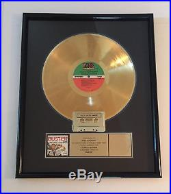 BusterMovie SoundtrackPhil Collins & Julie Walters Gold Record Sales Award