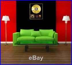 CD Gold Disc Album Record Vinyl Lp Award Display By The Beatles Of Sgt. Peppers