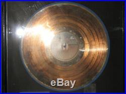 Cameo RIAA Gold Record Award Secret Omen Album Presented to Larry Blackmon
